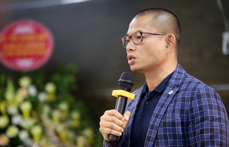 Luật sư Phạm Thành Long chia sẻ tại họp báo DTSGC