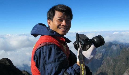 Nhiều người đã quen thuộc với hình ảnh Phạm Thành Long nhiếp ảnh gia