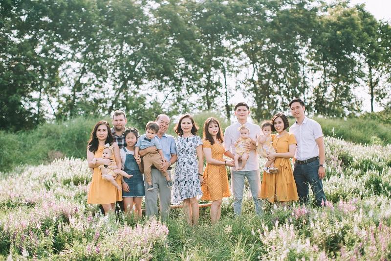 Phạm Thùy Dung hạnh phúc bên gia đình