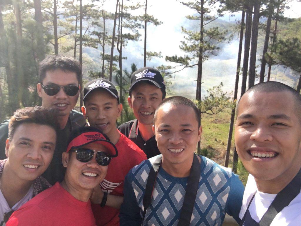 Đoàn Eagle Caravan có mặt tại Đà Lạt
