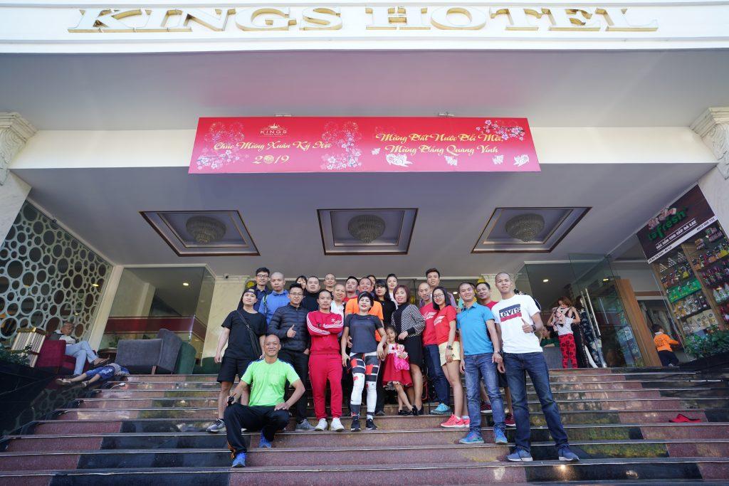 Đoàn Eagle Caravan dừng chân nghỉ ngơi tại khách sạn King, Đà Lạt