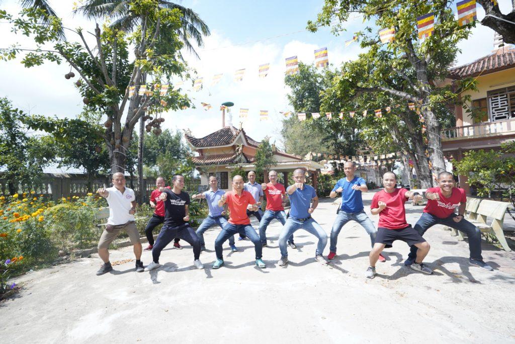 Eagle Caravan tới chùa Long Phước Bình Định