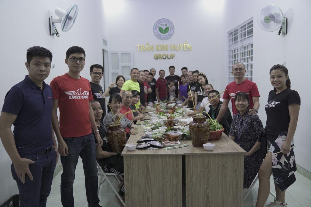 Liên hoan tại Trần Kim Huyền Group