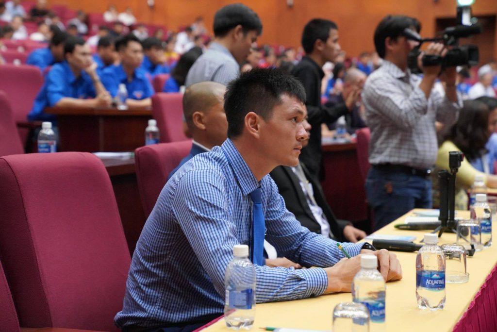 Nguyễn Văn Khánh - Giám đốc công ty Rượu 9 Chum và nhiều doanh nhân khác cũng tới tham dự