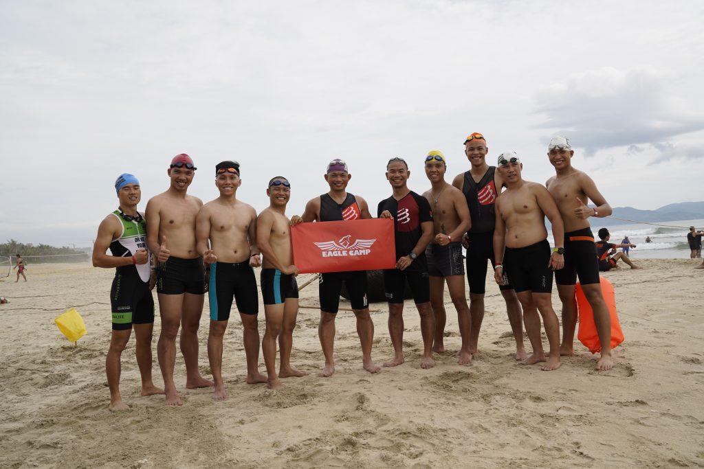 Eagle Camp tham dự giải Iron Man 70.3 Đà Nẵng