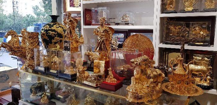 Sản phẩm quà tặng cao cấp phong phú về chủng loại với các mức giá cả phù hợp với thị trường