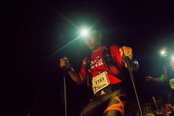 Chặng đường vượt núi trên đường đua xuyên đêm