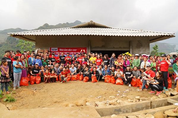 Đoàn Eagle Camp Caravan Hà Giang 2021 hoạt động thiện nguyện tại thôn Sùng Trà - Xã Du Già - Huyện Yên Minh - Hà Giang